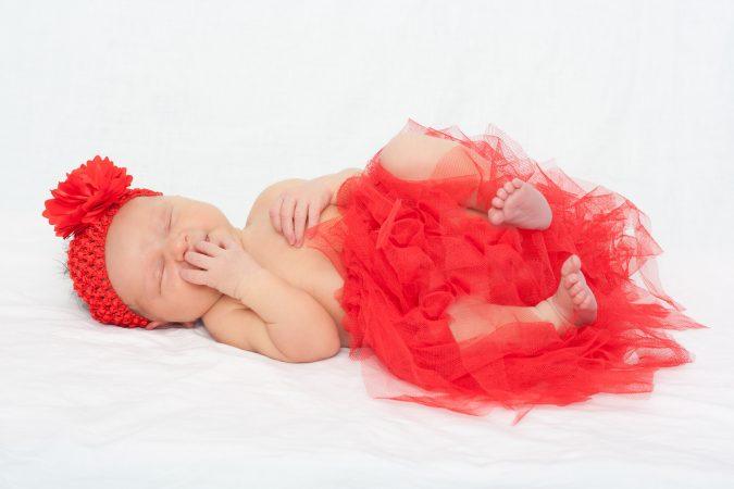 fotografie novorozenců